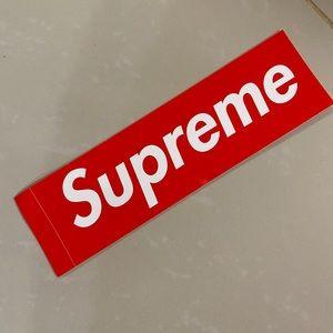 Supreme sticker